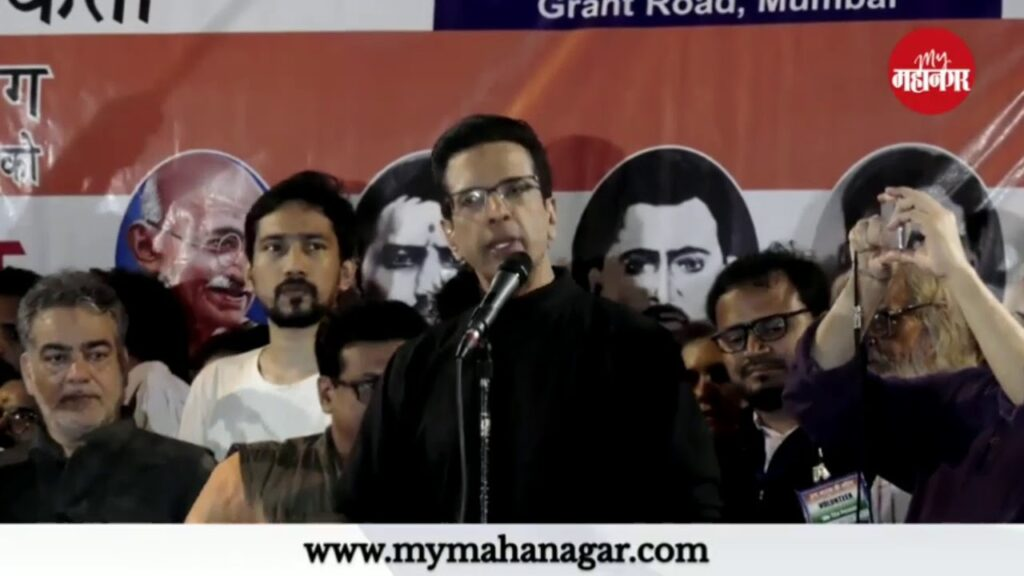 Javed-jaffrey-protest-against-CAA-and-NRC-with-rahat-indori
