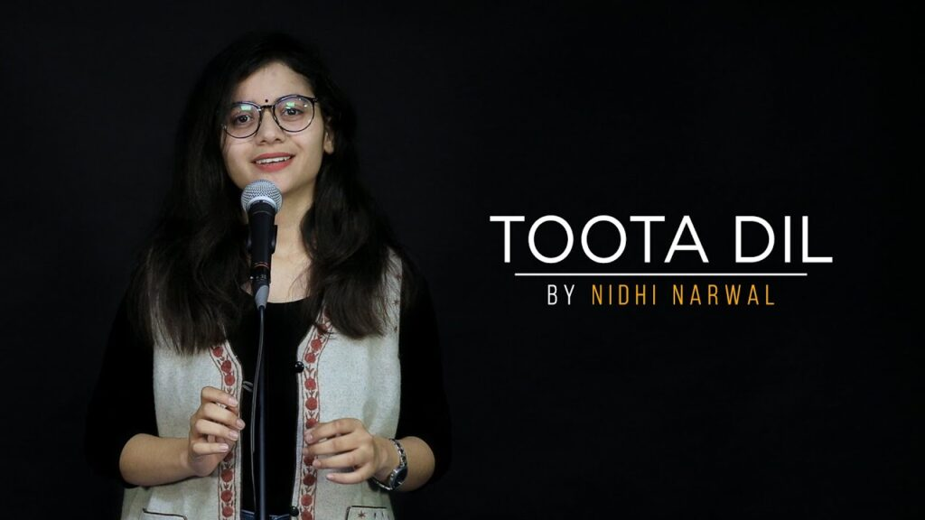 quotToota Dilquot by Nidhi Narwal Spoken Word Poetry